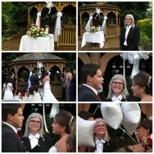 Una emotiva boda de dos jovenes enamorados