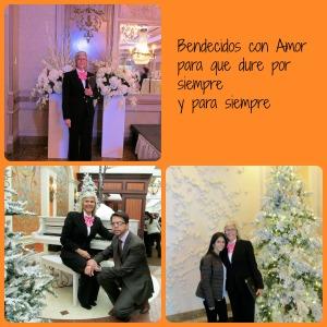 Con mi apreciado Pedro Yanez, amigo de los contrayentes y mi sobrina visitante, Karla, quien me sirvio de fotógrafa.