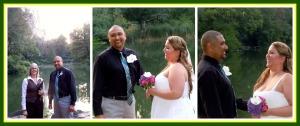 Wilfredo y yo esperando a la novia, su llegada y la linda admiración del novio al ver a su prometida