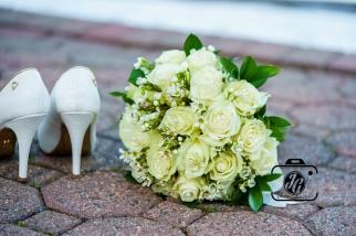 flores y zapatos
