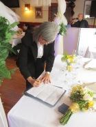 Firma del ministro