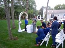 Beso de recien casados
