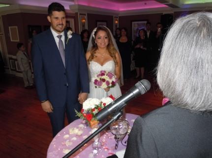 Andrés y Sophia, sonrientes y felices