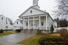 La iglesia donde hicimos la ceremonia de bodas
