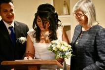 Felices y recién casados