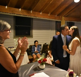 Los declaro marido y mujer....